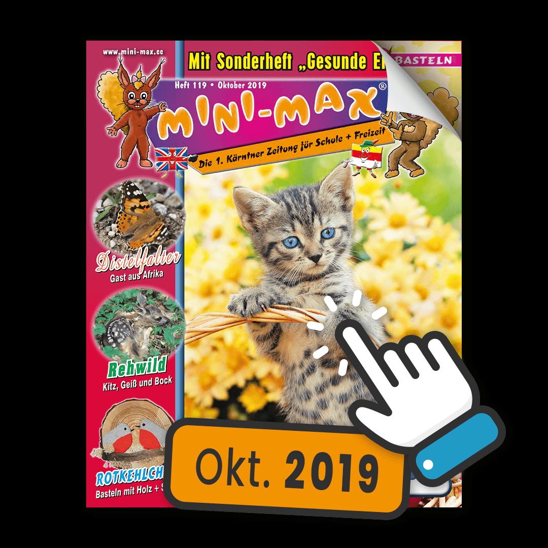 MINI-MAX Heft 119, Oktober 2019