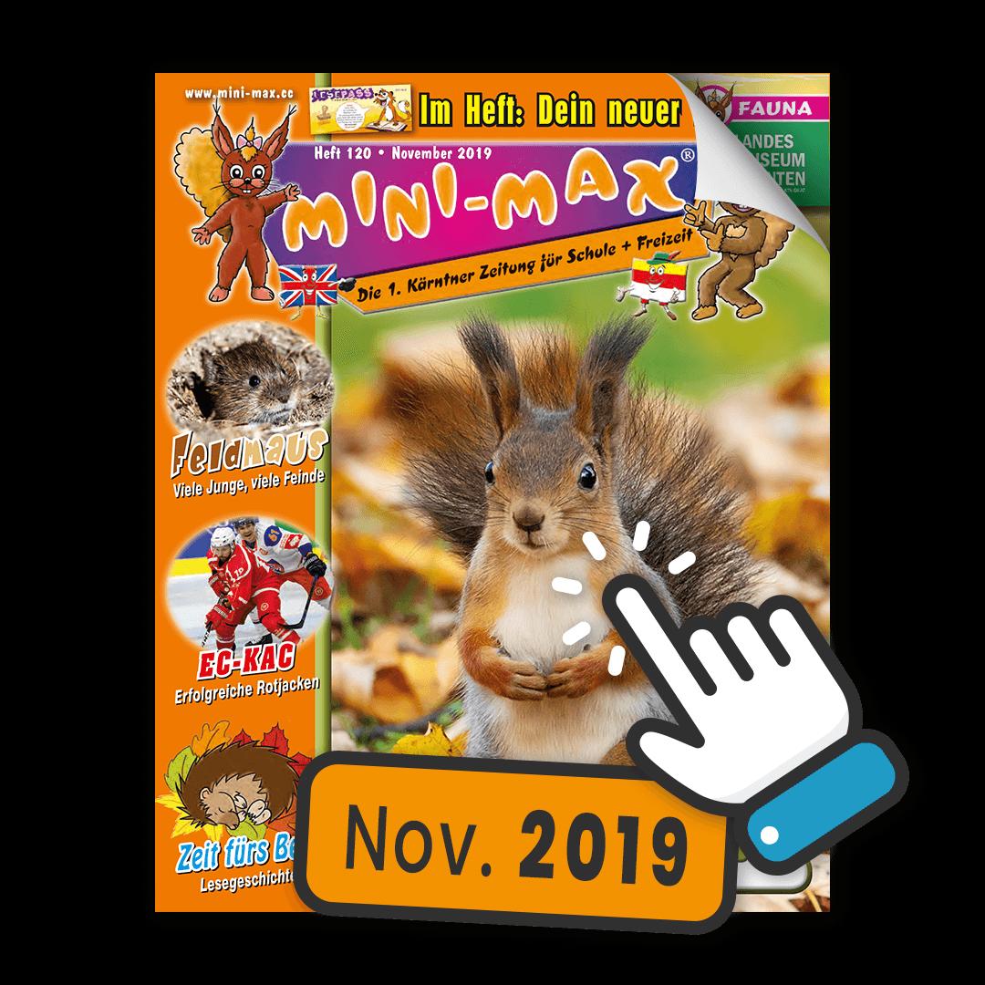 MINI-MAX Heft 120, November 2019