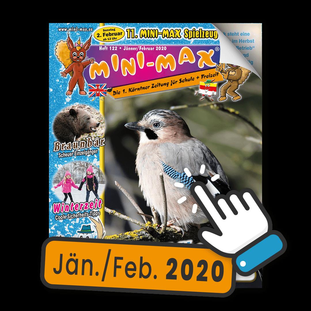 MINI-MAX Heft 122, Jänner / Februar 2020