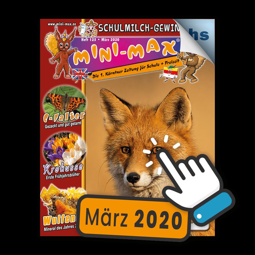 MINI-MAX Heft 123, März 2020