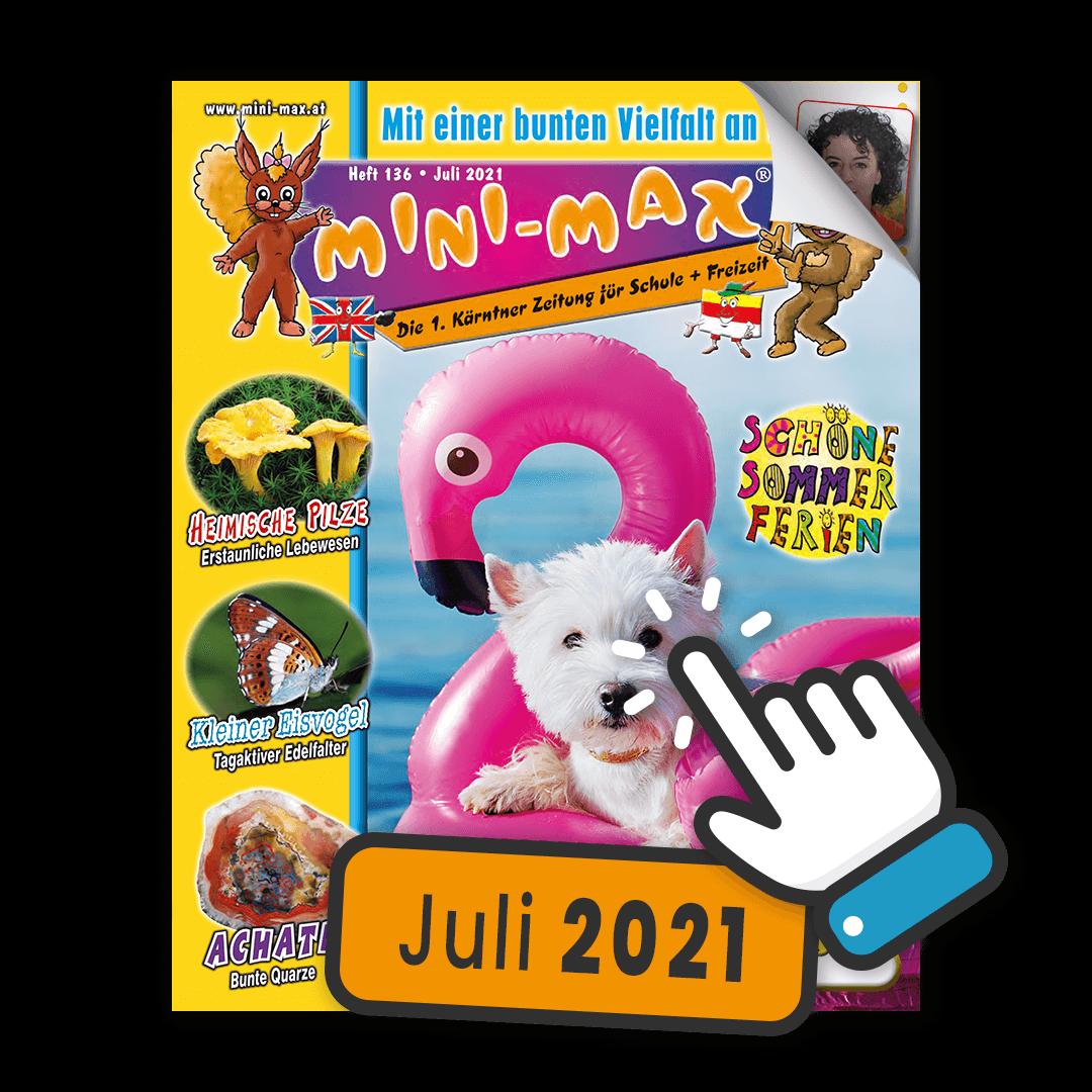 MINI-MAX Heft 136, Juli 2021